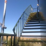 Water Tank Staircase