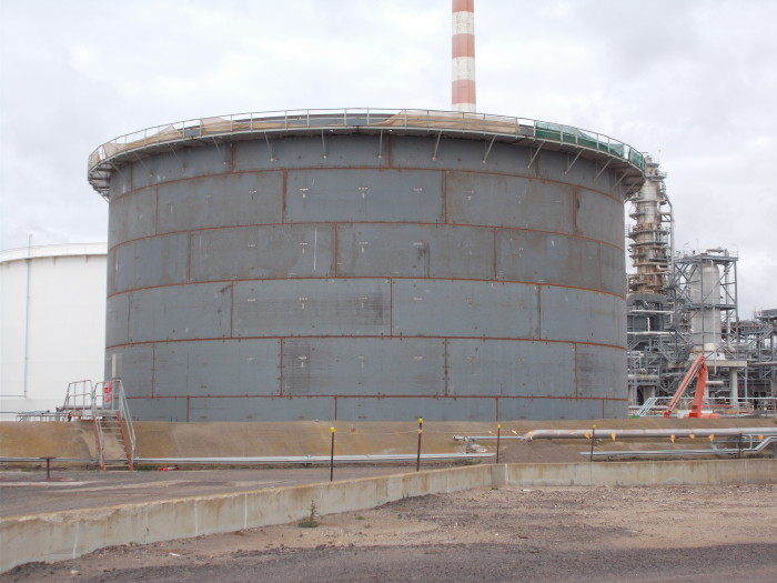 Primed Tank 17 Geelong Refinery